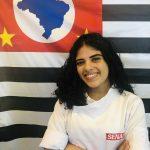 "Larissa da Silva Brito- Escola SENAI ""Roberto Simonsen"" em São Paulo."